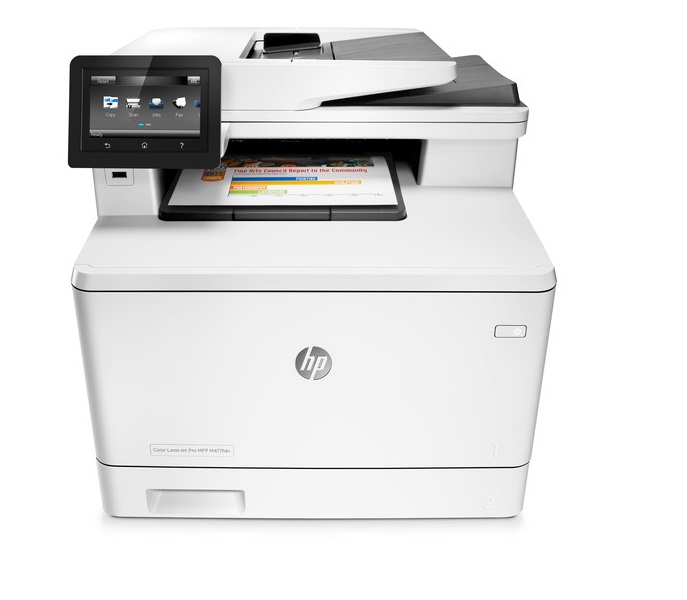 Máy in đa chức năng HP Color LaserJet Pro M477fdw ( In-Scan-Fax-Copy-Duplex-Wifi-Network)
